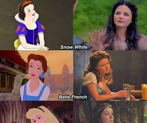 aurora, beauty and the beast, and belle image