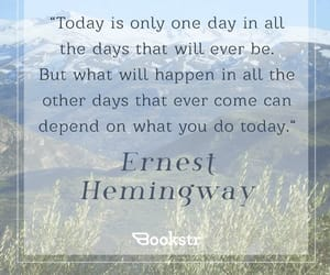 day, will, and ernest hemingway image