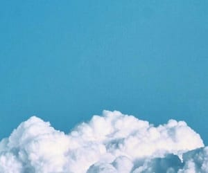 wallpaper, aesthetic, and clouds image