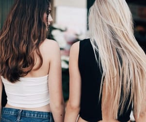 hair, girl, and brandy melville image