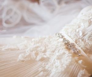 dress, wedding, and photography image