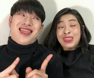 asian boy, asian girl, and ulzzang girl image
