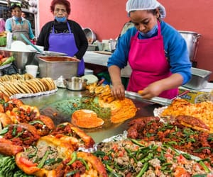 food, street vendors, and mexican image