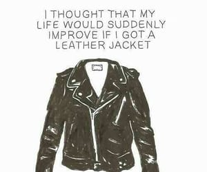 aesthetic, funny, and leather image