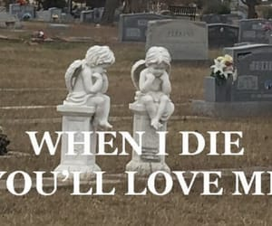 aesthetic and cemetery image