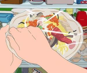 anime, anime food, and gif image