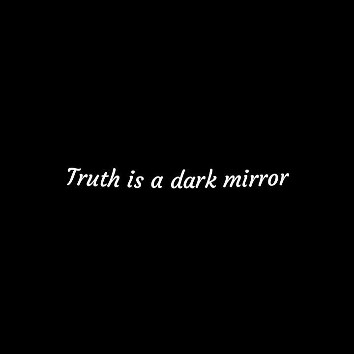 black, dark, and mirror image