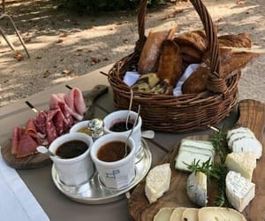 food, picnic, and cheese image