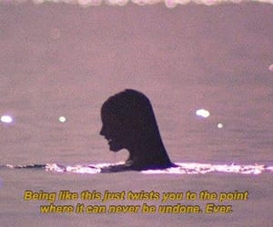 broken, girl, and melancholy image