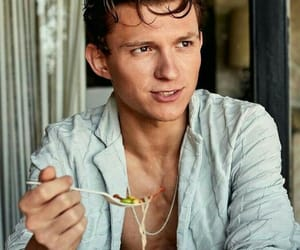 tom holland, spiderman, and Hot image
