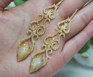 earrings, jewellery, and gemstone image