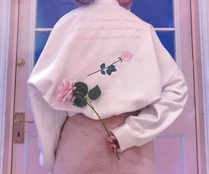 aesthetic, french, and pink image