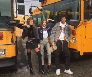 friends, school, and outfit image