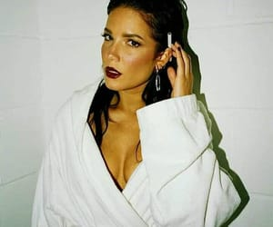 famous, girl, and halsey image