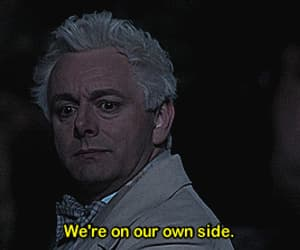 aziraphale, good omens, and series image