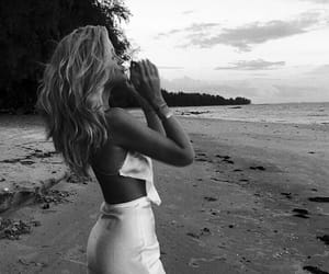 beach, style, and fashion image