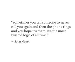 john mayer, missing you, and quotes image