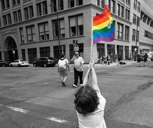 pride, lgbtq, and rainbow image