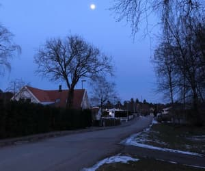 blue, cold, and home image