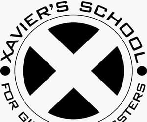 black and white, movie, and x-men image