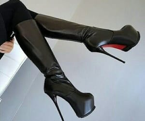 boots and high heels image