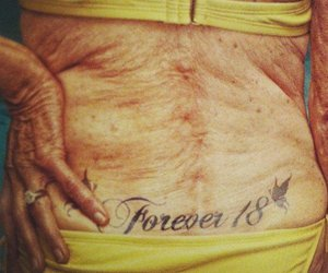 tattoo and Forever Young image