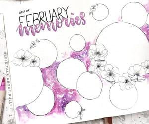 memories, bujo, and bullet journal image