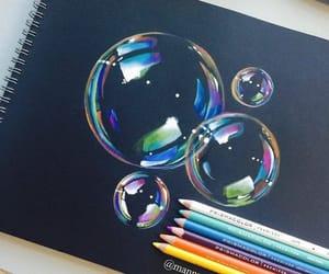 arte, burbujas, and imagenes image