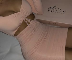 dress, outfits, and pink image