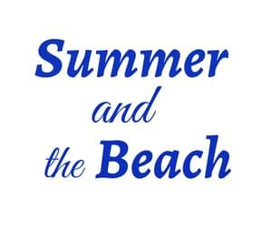 blue, seasons, and summer image