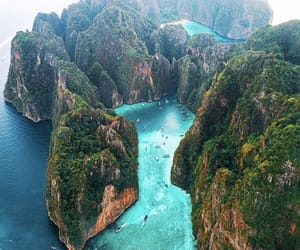 nature, travel, and thailand image