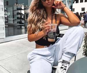 fashion, pretty stylish glam, and sunglasses image