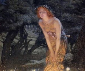 art, fairy, and painting image