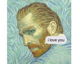 art, color, and gogh image