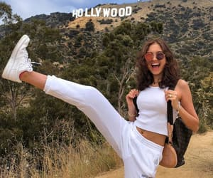 hollywood, brunette, and girl image