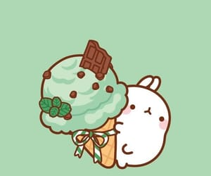 animal, wallpaper, and molang image