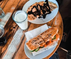 food, macedonia, and skopje image