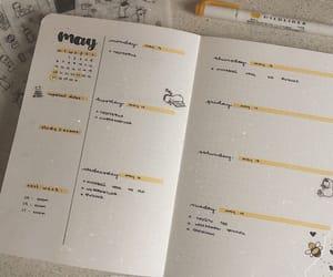 may, week, and bullet journal image