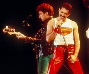 80s, bass, and Freddie Mercury image