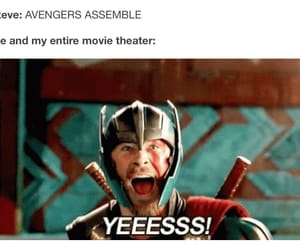 Avengers, film, and thor image