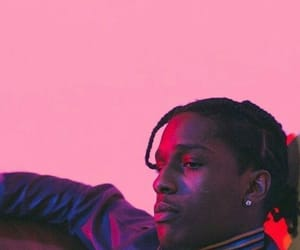 asap rocky and pink image