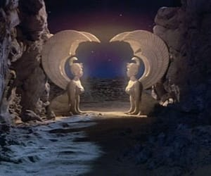 entrance, fantasy, and neverending story image