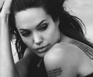 Angelina Jolie, lips, and photography image
