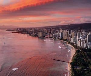 hawaii, travel, and beach image