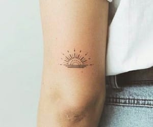 tattoo and sun image