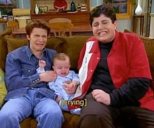 drake and josh, baby, and crying image