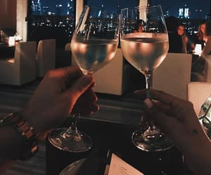drink, luxury, and couple image
