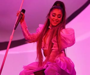ariana grande, sweetener, and smile image