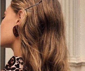 blonde, pins, and earrings image