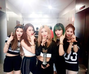 4minute and hyuna image